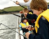 kids fishing mullaghmore